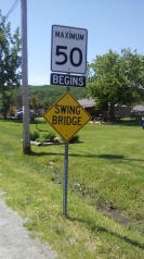 Frankford Ontario swing bridge